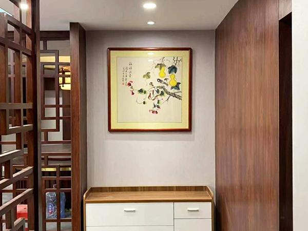 中建八局广州萝岗项目办公餐厅挂画