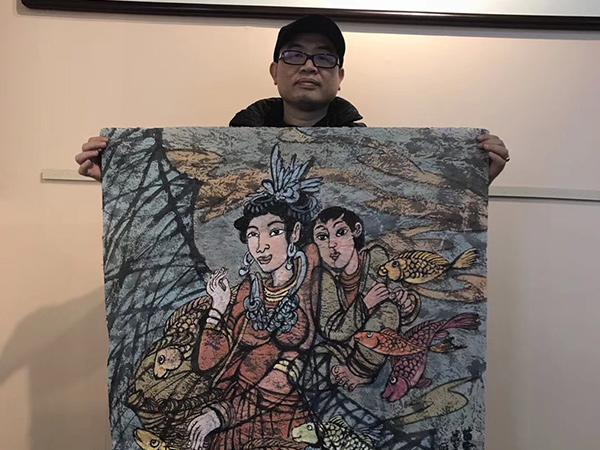 唐雁翼 四尺斗方 精品人物画系列