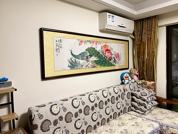 广州萝岗区万科东荟城家居挂画